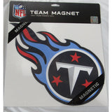 NFL 12 INCH AUTO MAGNET TENNESSEE TITANS CURRENT LOGO