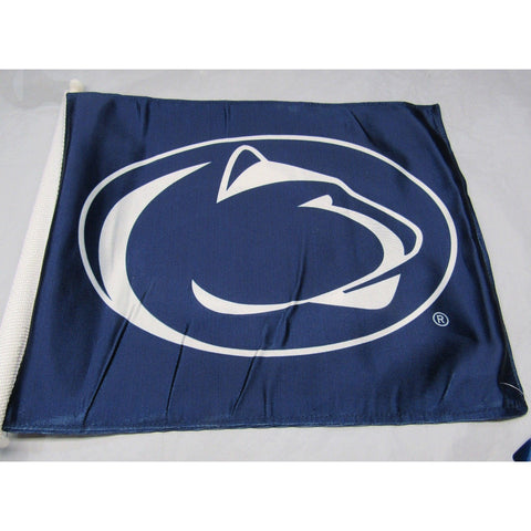 NCAA Penn State Nittany Lions Logo on Window Car Flag by Fremont Die