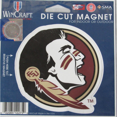 NCAA Florida State Seminoles 4 inch Auto Magnet by WinCraft