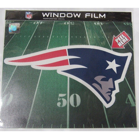 "NFL New England Patriots Die-Cut Window Film Approx. 12"" by Fremont Die"