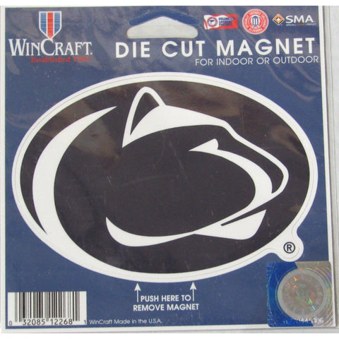 NCAA Penn State Nittany Lions 4 inch Auto Magnet by WinCraft