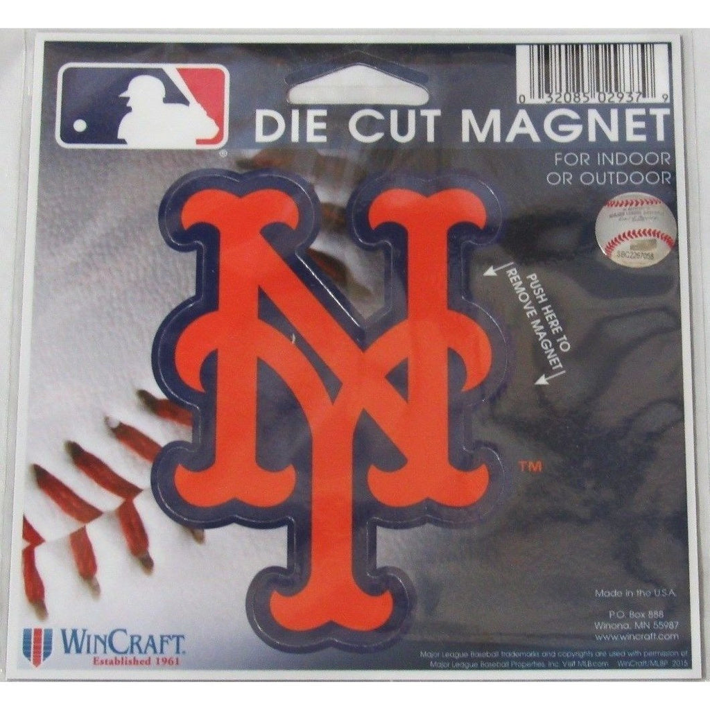11592068ad1 MLB New York Mets NY Logo 4 inch Auto Magnet by WinCraft – All ...