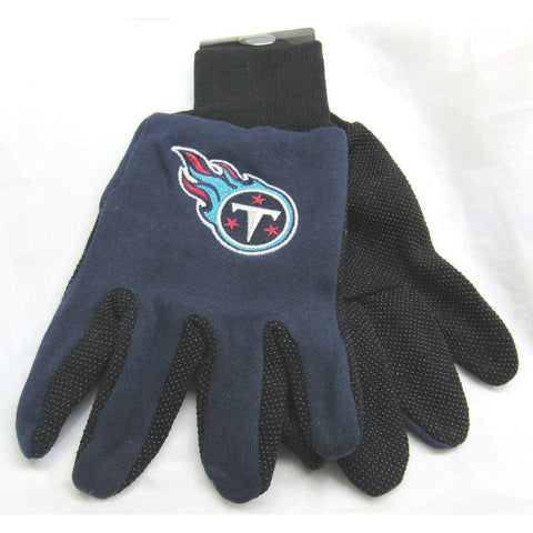 NFL NWT NO SLIP UTILITY WORK GLOVES - TENNESSEE TITANS - McARTHUR