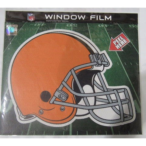 "NFL Cleveland Browns Die-Cut Window Film Approx. 12"" by Fremont Die"