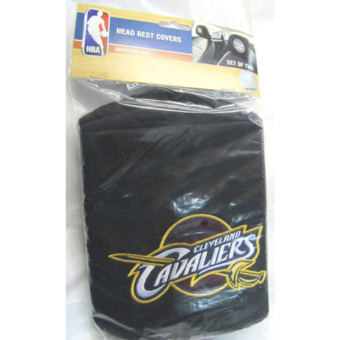 NBA Cleveland Cavaliers Headrest Cover Embroidered Logo Set of 2 by Team ProMark