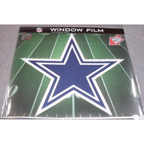"NFL Dallas Cowboys Die-Cut Window Film Approx. 12"" by Fremont Die"