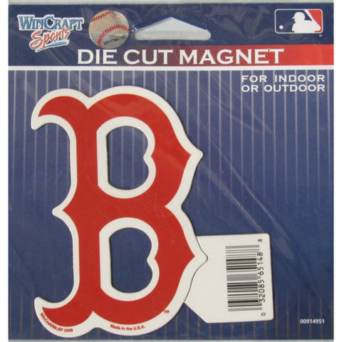 MLB Boston Red Sox Alt Logo 4 inch Auto Magnet by WinCraft