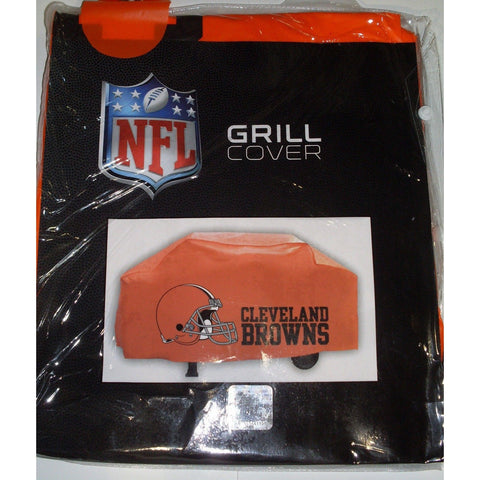 NFL Cleveland Browns 68 Inch Orange Vinyl Economy Gas / Charcoal Grill Cover