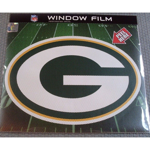 "NFL Green Bay Packers Die-Cut Window Film Approx. 12"" by Fremont Die"