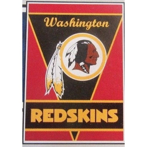 "NFL Washington Redskins 28""x40"" Team Vertical House Flag 1 Sided"