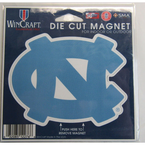 NCAA North Carolina Tar Heels Logo 4 inch Auto Magnet by WinCraft