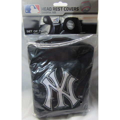 MLB New York Yankees  Headrest Cover Embroidered Logo Set of 2 by Team ProMark