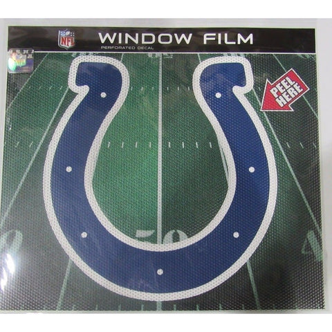 "NFL Indianapolis Colts Die-Cut Window Film Approx. 12"" by Fremont Die"