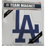 MLB Los Angeles Dodgers Logo on 12 inch Auto Magnet