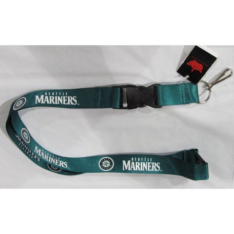 MLB Seattle Mariners Lanyard Keychain Green by AMINCO
