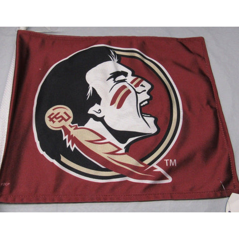 NCAA Florida State Seminoles Logo on Window Car Flag by Fremont Die
