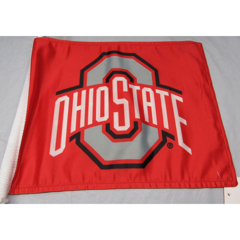 NCAA Ohio State Buckeyes Logo on Window Car Flag by Fremont Die