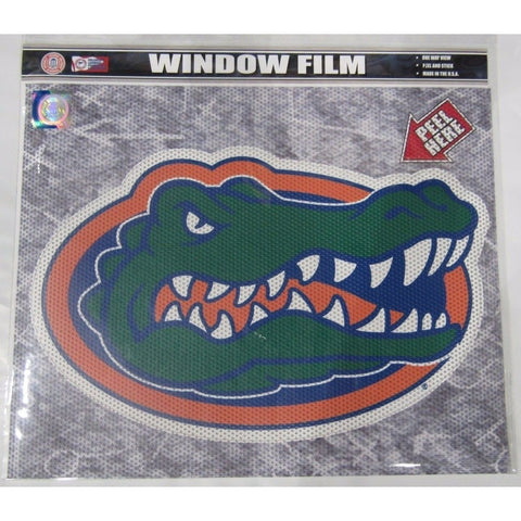 "NCAA Florida Gators Die-Cut Window Film Approx. 12"" by Fremont Die"