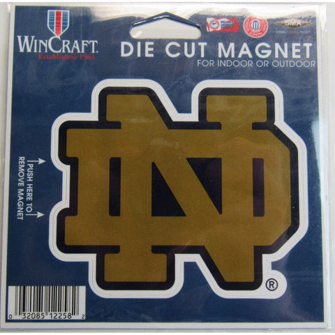 NCAA Notre Dame Fighting Irish 4 inch Auto Magnet by WinCraft