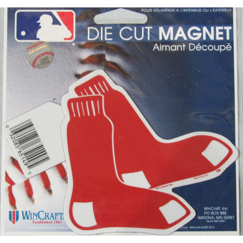 MLB Boston Red Sox Logo 4 inch Auto Magnet by WinCraft
