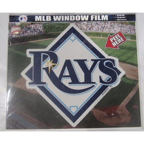 "MLB Tampa Bay Rays Die-Cut Window Film Approx. 12"" by Fremont Die"