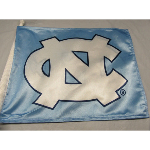 NCAA North Carolina Tar Heels Logo on Window Car Flag by Fremont Die