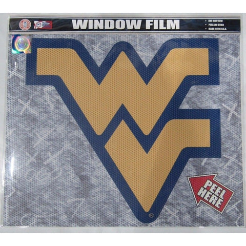 "NCAA West Virginia Mountaineers Die-Cut Window Film Approx. 12"" by Fremont Die"