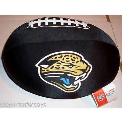 NFL Spandex Football Shaped Pillows Jacksonville Jaguars by Northwest
