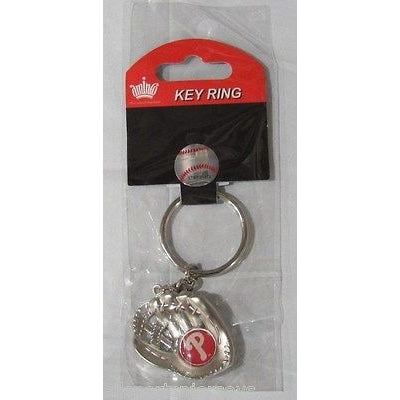 MLB Chrome Glove With Logo in Palm Key Chain Philadelphia Phillies AMINCO