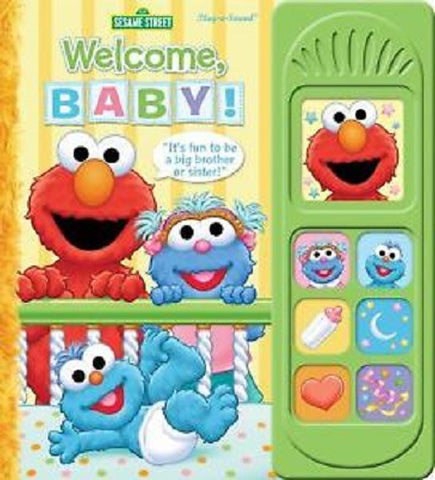 Sesame Street Welcome, Baby! Play-a-Sound Board Book PI Kids