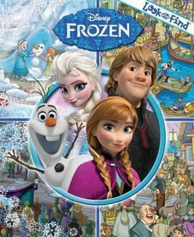 Disney Frozen Look and Find Hardcover Picture Book PI Kids