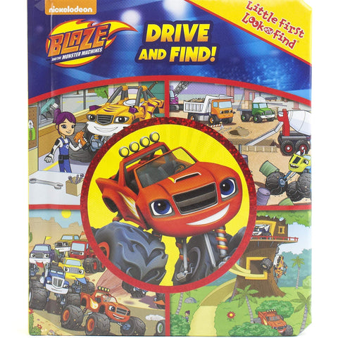 Nickelodeon Blaze and the Monster Machines Drive and Find! Look and Find PI Kids