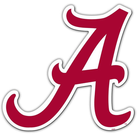 NCAA 12 INCH AUTO MAGNET ALABAMA CRIMSON TIDE ALTERNATE LOGO