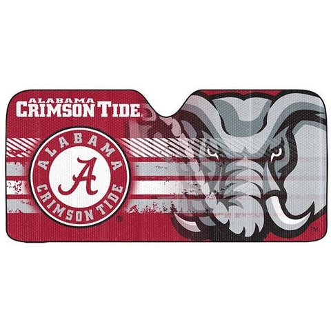 NCAA Alabama Crimson Tide Automotive Sun Shade Universal Size Team ProMark