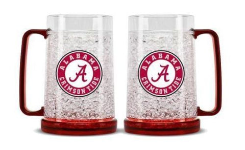 NCAA Alabama Crimson Tide 16oz Crystal Freezer Mug by Duck House