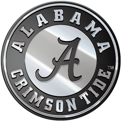 NCAA Alabama Crimson Tide 3-D Chrome Heavy Metal Emblem By Team ProMark