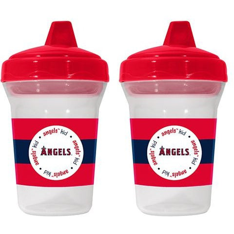 MLB Los Angeles Angels Toddlers Sippy Cup 5 oz. 2-Pack by baby fanatic