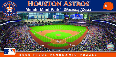 MLB Houston Astros Panoramic 1000pc Jigsaw Puzzle by Masterpieces