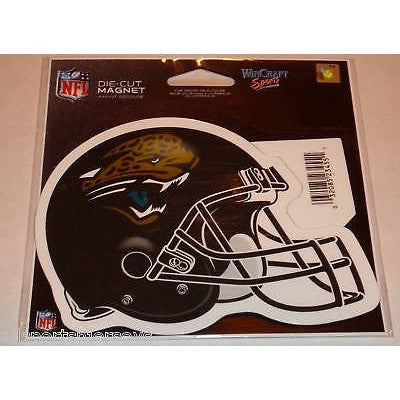 NFL Jacksonville Jaguars Helmet 4 inch Auto Magnet by WinCraft