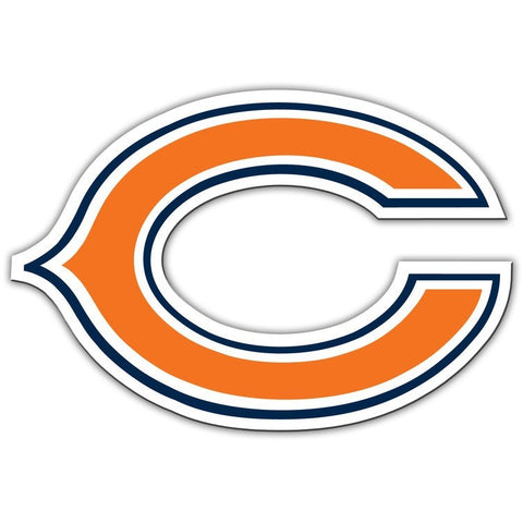 NFL 12 INCH AUTO MAGNET CHICAGO BEARS CURRENT LOGO