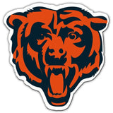 NFL 12 INCH AUTO MAGNET CHICAGO BEARS ALTERNATE LOGO