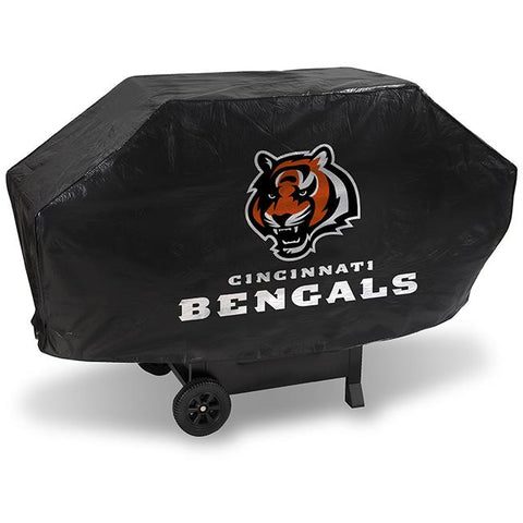 NFL Cincinnati Bengals 68 Inch Deluxe Vinyl Padded Grill Cover by Rico Industries
