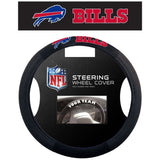 NFL Buffalo Bills Poly-Suede Mesh Steering Wheel Cover by Fremont Die