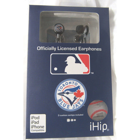 MLB Team Logo Earphones Toronto Blue Jays By iHip