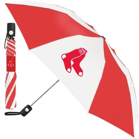 MLB Travel Umbrella Boston Red Sox By McArthur For Windcraft