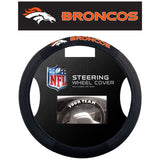 NFL Denver Broncos Poly-Suede Mesh Steering Wheel Cover by Fremont Die