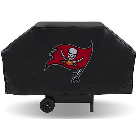 NFL Tampa Bay Buccaneers 68 Inch Vinyl Economy Gas / Charcoal Grill Cover