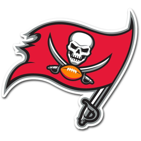 NFL 12 INCH AUTO MAGNET TAMPA BAY BUCCANEERS CURRENT LOGO