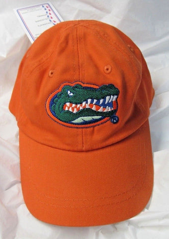 NCAA Florida Gators Logo on Orange Ball Cap Size Toddler by Two Feet Ahead