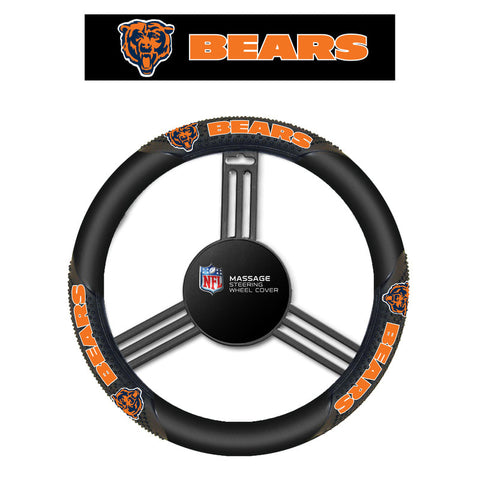 NFL Chicago Bears Massage Steering Wheel Cover By Fremont Die